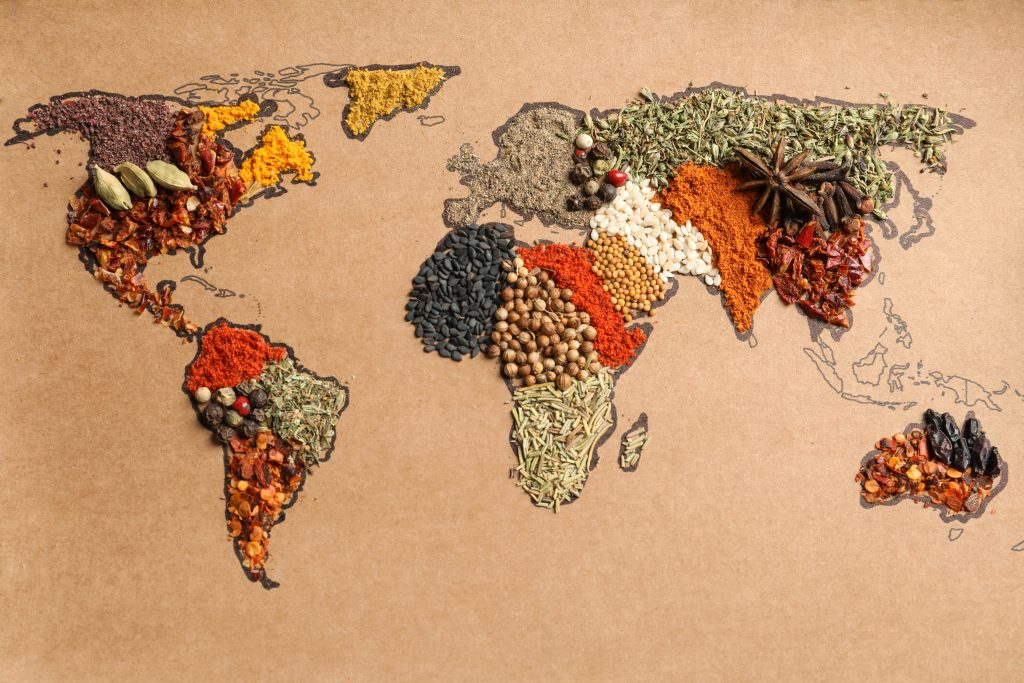 International Cuisine: North America
